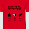 Birth Control Effectiveness - Men's T-Shirt