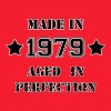 Made in 1979 - Camiseta hombre