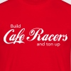 Build Cafe Racers and Ton Up CafeRacersUnited.com - Mannen T-shirt