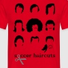 Soccer hairstyles  - Men's T-Shirt