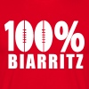 100 % Biarritz Olympique rugby 64 - T-shirt Homme