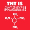 TNT is Dynamite (formula) - Men's T-Shirt