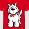 West Highland White Terrier - Westie – chien - T-shirt Homme