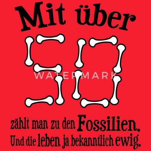 Fossil 50 Geburtstag Manner T Shirt Spreadshirt