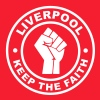 Liverpool Keep the Faith - Men's T-Shirt