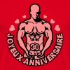 30 ans homme nu denude muscle anniversai - T-shirt Homme