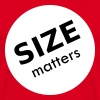 Size matters - T-shirt Homme