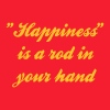 Happiness is a Fishing Rod n your hand - Men's T-Shirt