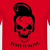 Elvis is alive - Men's T-Shirt
