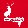 This is my design (Hannibal) - Men's T-Shirt