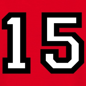 The number 15 - number fifteen