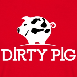 DIRTY_PIG_White - T-shirt Homme