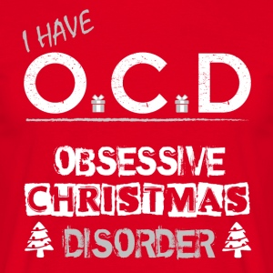 OCD jul - Herre-T-shirt