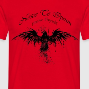 Eagle Splatter Design - Herre-T-shirt