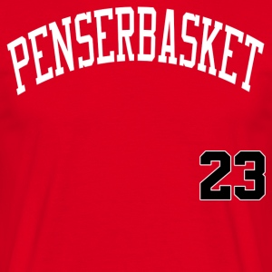 Tænk Basketball 23 - Herre-T-shirt