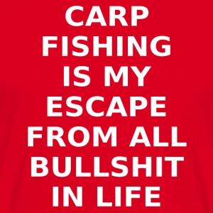 escape carp fishing - Men's T-Shirt