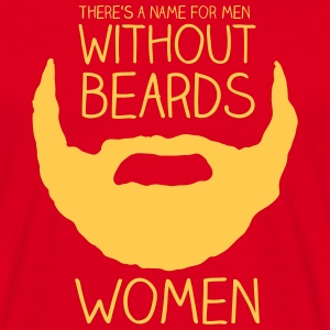 There's a name for men without beards - women