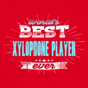World's Best Xylophonist - Mannen T-shirt