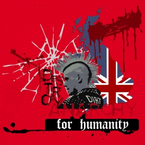 ANARCHY FOR HUMANITY - Men's T-Shirt