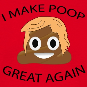 trump poop - Men's T-Shirt