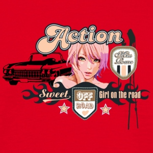 action - Men's T-Shirt