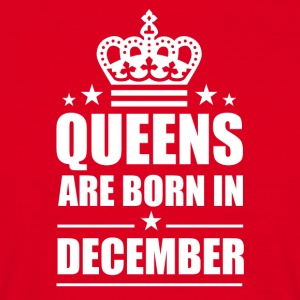 Queen desember - T-skjorte for menn