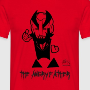 THE ANGRYFATHER - Men's T-Shirt