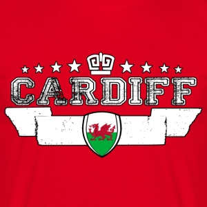 Cardiff - T-skjorte for menn