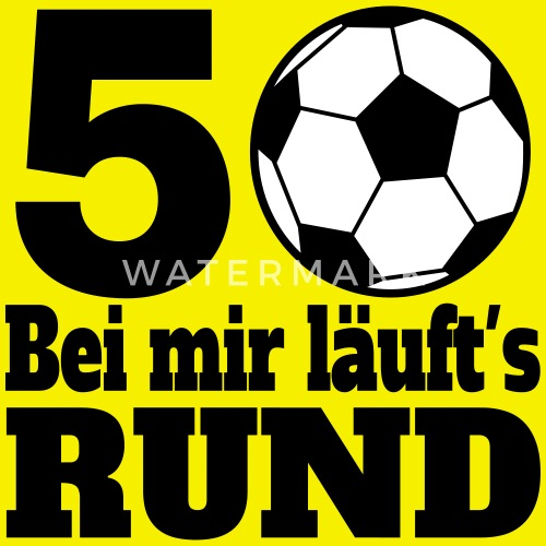 Fussball 50 Geburtstag Manner T Shirt Spreadshirt
