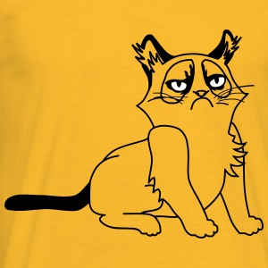 Grumpy Kitty - T-shirt Homme