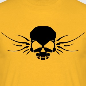 INANI skull with wings - Men's T-Shirt