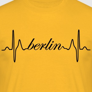 Berlin heartbeat ECG - Men's T-Shirt