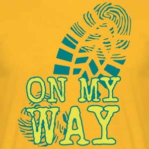 MY WAY - T-shirt herr