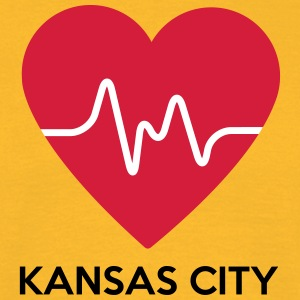Coeur de Kansas City - T-shirt Homme