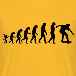 Skater evolution - Men's T-Shirt