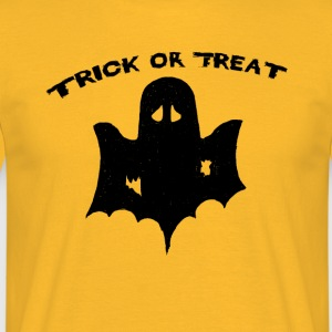 trick or treat Halloween trick or Surt - T-skjorte for menn