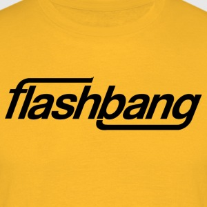 Flash Bang simple - 100kr don - T-shirt Homme