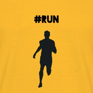 #RUN - Herre-T-shirt