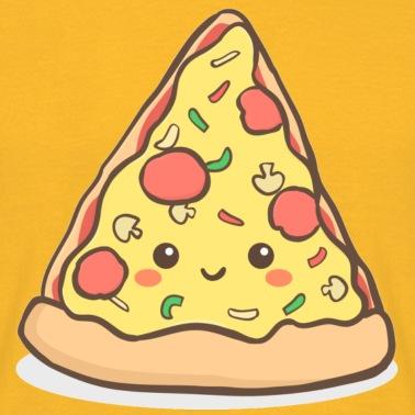 Cibo Spazzatura Pizza Kawaii Maglietta Uomo Spreadshirt