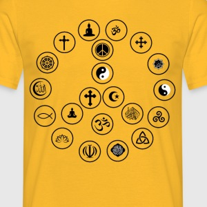 Peace and Religion - Men's T-Shirt