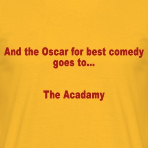 And the Oscar for best comedy goes to ... the Acada - Men's T-Shirt