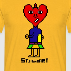 Sting Coeur - T-shirt Homme
