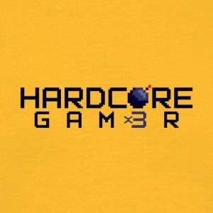 Hardcor3 Gam3r - Männer T-Shirt