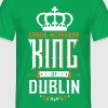 King Of Dublin - Men's T-Shirt
