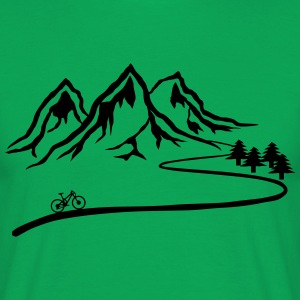 Mountainbike Trail - Men's T-Shirt
