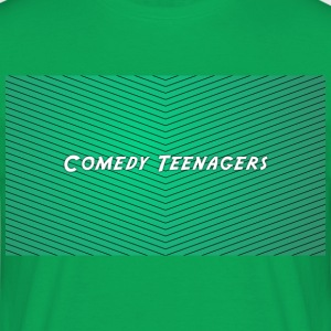 Green Comedy Teenagers T Shirt - T-shirt herr