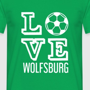 LOVE Wolfsburg - T-skjorte for menn