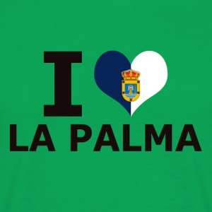 I LOVE LA PALMA FLAG - Men's T-Shirt