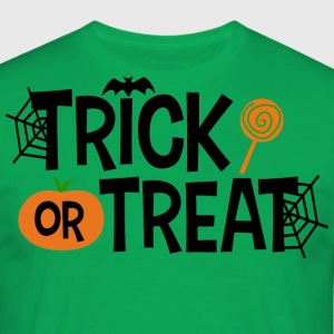 Trick or treat - T-skjorte for menn