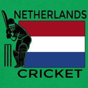 Nederland Cricket - T-skjorte for menn